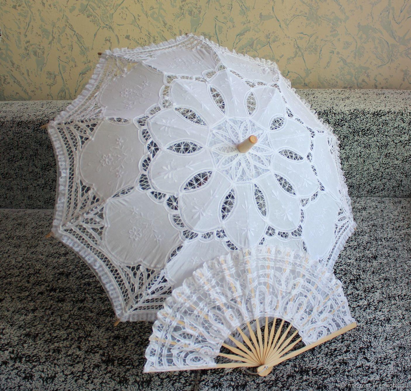 Кружевной зонт №10, Зонты, Волжский,  Фото №1