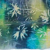Аксессуары ручной работы. Ярмарка Мастеров - ручная работа Шелковый шарф Звездное лето. Handmade.