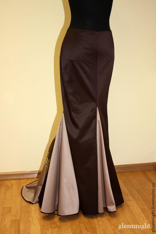 Вечерняя юбка-годе