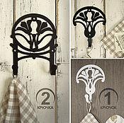 Для дома и интерьера ручной работы. Ярмарка Мастеров - ручная работа Крючки металлические Лилии1. Handmade.