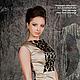 Такое платье из натурального шёлка и кружева привлекает внимание окружающих мужчин/Под заказ! Срок изготовления 7 дней. Цена 7500 руб.