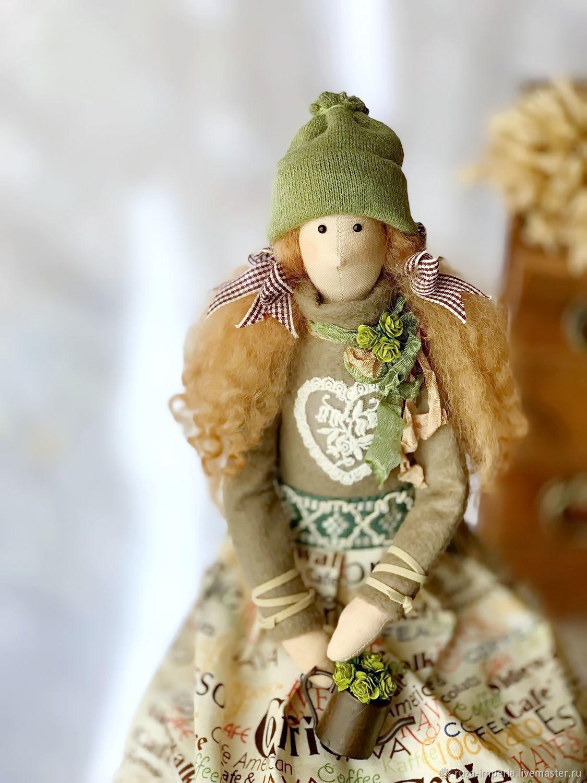 Кофейная кукла, Тильды, Москва, Фото №1
