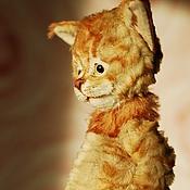 Куклы и игрушки ручной работы. Ярмарка Мастеров - ручная работа MaineCoon cat. МейнКун котенок. Коллекционная игрушка тедди. Handmade.