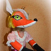 Куклы и игрушки handmade. Livemaster - original item The puppet theatre.Kinds doll Fox. Handmade.