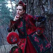 """Одежда ручной работы. Ярмарка Мастеров - ручная работа Валяное пальто""""Ярина"""". Handmade."""