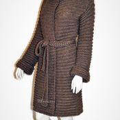 """Одежда ручной работы. Ярмарка Мастеров - ручная работа Вязаное пальто. Пальто связанное крючком.  """"Верди 1"""". Handmade."""