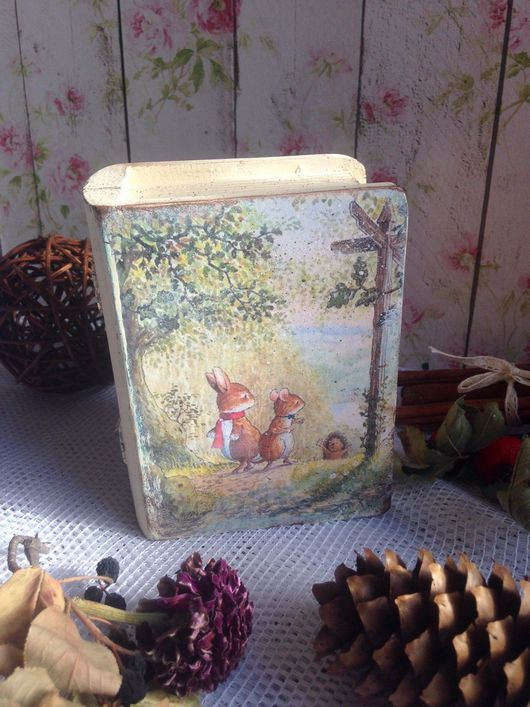 """Шкатулки ручной работы. Ярмарка Мастеров - ручная работа. Купить Шкатулка """" В гостях у сказки"""". Handmade. Подарок, для детей"""