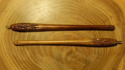 Карандаши, ручки ручной работы. Ярмарка Мастеров - ручная работа. Купить Ручка резная. Handmade. Ручка, дерево