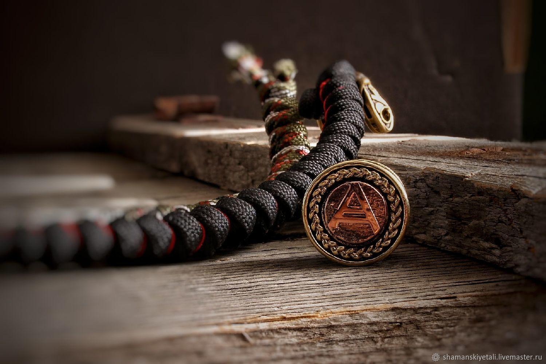 Veles lanyard bead, Veles paracord bead, Souvenir weapon, Volgograd,  Фото №1