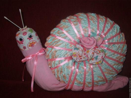 Подарки для новорожденных, ручной работы. Ярмарка Мастеров - ручная работа. Купить Улиточка. Handmade. Розовый, одеждя для новорожденного