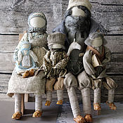 """Куклы и игрушки ручной работы. Ярмарка Мастеров - ручная работа """"Счастливое семейство"""" Авторская кукла-образ.. Handmade."""