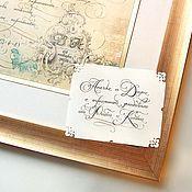 Подарки к праздникам ручной работы. Ярмарка Мастеров - ручная работа Ажурные карточки с поздравлением. Handmade.