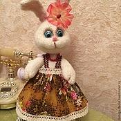 Куклы и игрушки ручной работы. Ярмарка Мастеров - ручная работа Зайка Стесняшка. Handmade.