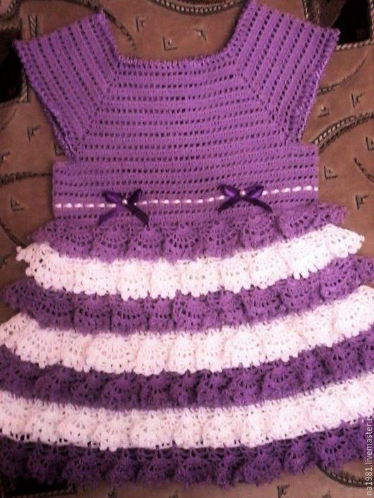 Платья ручной работы. Ярмарка Мастеров - ручная работа. Купить сирень. Handmade. Нарядное платье, сиреневый цвет, белый цвет