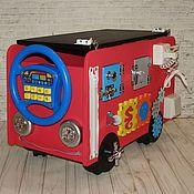 Техника, роботы, транспорт ручной работы. Ярмарка Мастеров - ручная работа Бизиавтобус. Handmade.