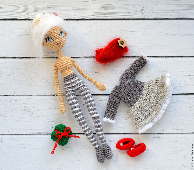 Мастер-классы для вязания амигуруми-куклы 99