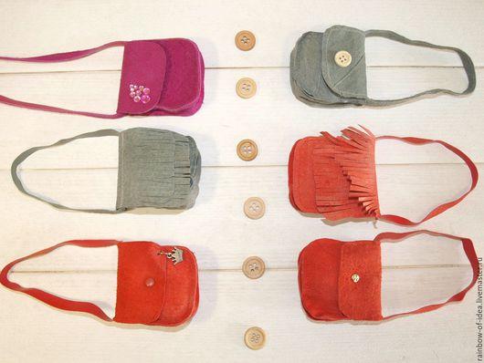 Одежда для кукол ручной работы. Ярмарка Мастеров - ручная работа. Купить Сумочки для кукол (8). Handmade. Комбинированный, малиновый