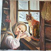 Картины и панно ручной работы. Ярмарка Мастеров - ручная работа в избе. Handmade.