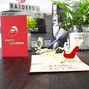 Новогодние сувениры ручной работы. Ярмарка Мастеров - ручная работа Рождественский экипаж. Handmade.
