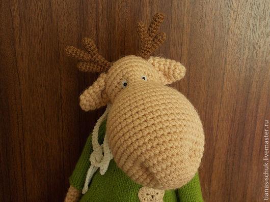 Мишки Тедди ручной работы. Ярмарка Мастеров - ручная работа. Купить Лось Веня (27 см). Handmade. тиана сищук
