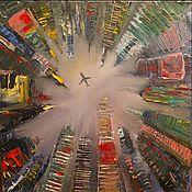 Картины и панно ручной работы. Ярмарка Мастеров - ручная работа Небо над нами. Handmade.