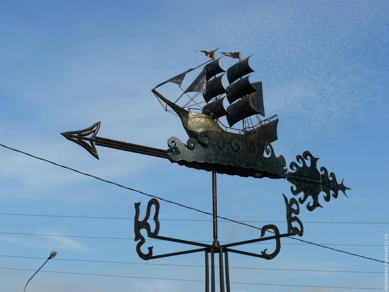 Флюгер Корабль (объемный), Флюгер, Москва,  Фото №1