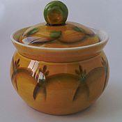 Винтаж handmade. Livemaster - original item konakovo. sugar bowl. vintage.. Handmade.