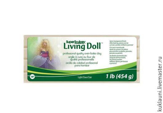Куклы и игрушки ручной работы. Ярмарка Мастеров - ручная работа. Купить Ливингдолл - Living Doll полимерная глина 454г. Handmade.