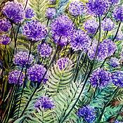 Картины и панно ручной работы. Ярмарка Мастеров - ручная работа Цветущий луг. Handmade.