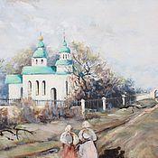 Картины и панно handmade. Livemaster - original item oil painting landscape spring vorontsovka.. Handmade.