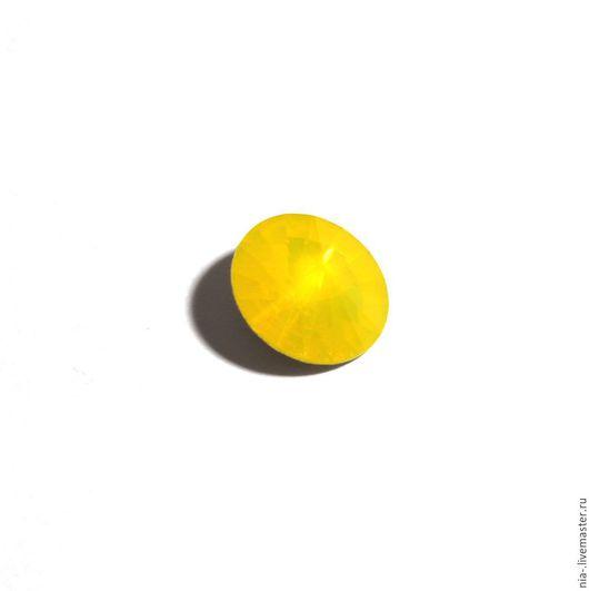 Для украшений ручной работы. Ярмарка Мастеров - ручная работа. Купить Риволи Сваровски 14 мм Yellov Opal sw231. Handmade.