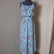 Одежда ручной работы. Ярмарка Мастеров - ручная работа Летнее платье-сарафан. Handmade.