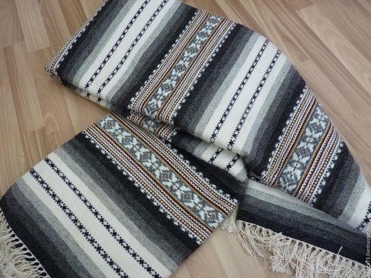 Текстиль, ковры ручной работы. Ярмарка Мастеров - ручная работа. Купить Верета. Handmade. Серый, тканая верета, сулейманова, для гостиной