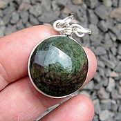 Украшения handmade. Livemaster - original item obsidian necklace gemstone pendant obsidian pendant. Handmade.