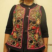 Одежда handmade. Livemaster - original item Vest Pavlogoradsky shawls. Handmade.