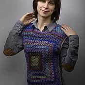 Одежда ручной работы. Ярмарка Мастеров - ручная работа Японский бабушкин квадрат. Handmade.