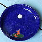 """Посуда ручной работы. Ярмарка Мастеров - ручная работа Тарелка """"Лис"""". Керамика. Handmade."""