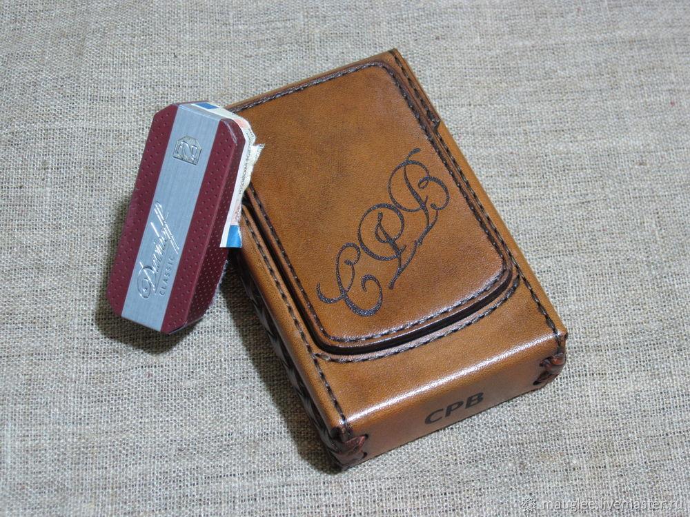 Cigarette case. sigaretta. Davidoff.  Custom bundle size, Cigarette cases, Nizhnij Tagil,  Фото №1