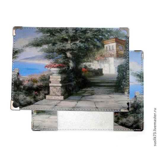 Возможно изготовление с таким рисунком визитниц, ключниц, кошельков, портмоне и бумажников.
