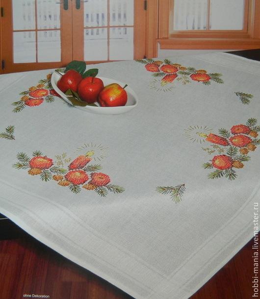 Вышивка ручной работы. Ярмарка Мастеров - ручная работа. Купить Набор для вышивания скатерти SHAEFER 6750.230. Handmade.