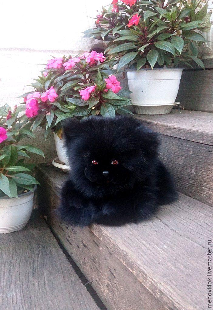 Подушка кот натуральный