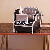 Инструменты для валяния ручной работы. Ярмарка Мастеров - ручная работа Кардер барабанный ручной. Handmade.