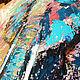 """Животные ручной работы. """"Абстрактный Бирюзовый Слон"""" картина маслом. ЯРКИЕ КАРТИНЫ Наталии Ширяевой. Ярмарка Мастеров. Живопись маслом"""