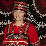 Одежда ручной работы. Ярмарка Мастеров - ручная работа Нижегородский праздничный сарафанный комплекс. Handmade.