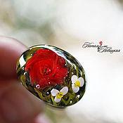 Украшения ручной работы. Ярмарка Мастеров - ручная работа Кольцо «Роза». Handmade.