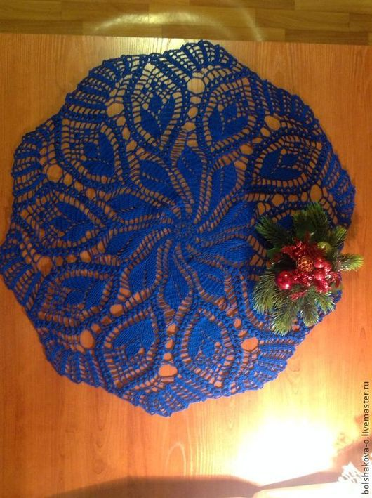 Текстиль, ковры ручной работы. Ярмарка Мастеров - ручная работа. Купить Салфетка вязанная крючком. Handmade. Салфетка вязаная крючком