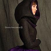 """Одежда ручной работы. Ярмарка Мастеров - ручная работа Куртка из мериносовой шерсти """"Space girl"""". Handmade."""