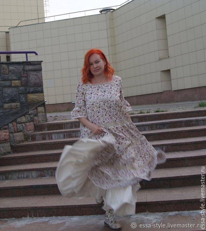 1585d1150bb Купить Бохо-платье  цветочная · Платья ручной работы. Бохо-платье  цветочная  поляна .