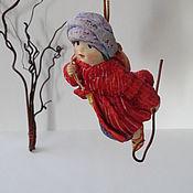 """Мягкие игрушки ручной работы. Ярмарка Мастеров - ручная работа Ватная игрушка """"Маленький мук"""". Handmade."""