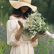 """Одежда ручной работы. Ярмарка Мастеров - ручная работа Платье""""Honey"""" midi. Handmade."""